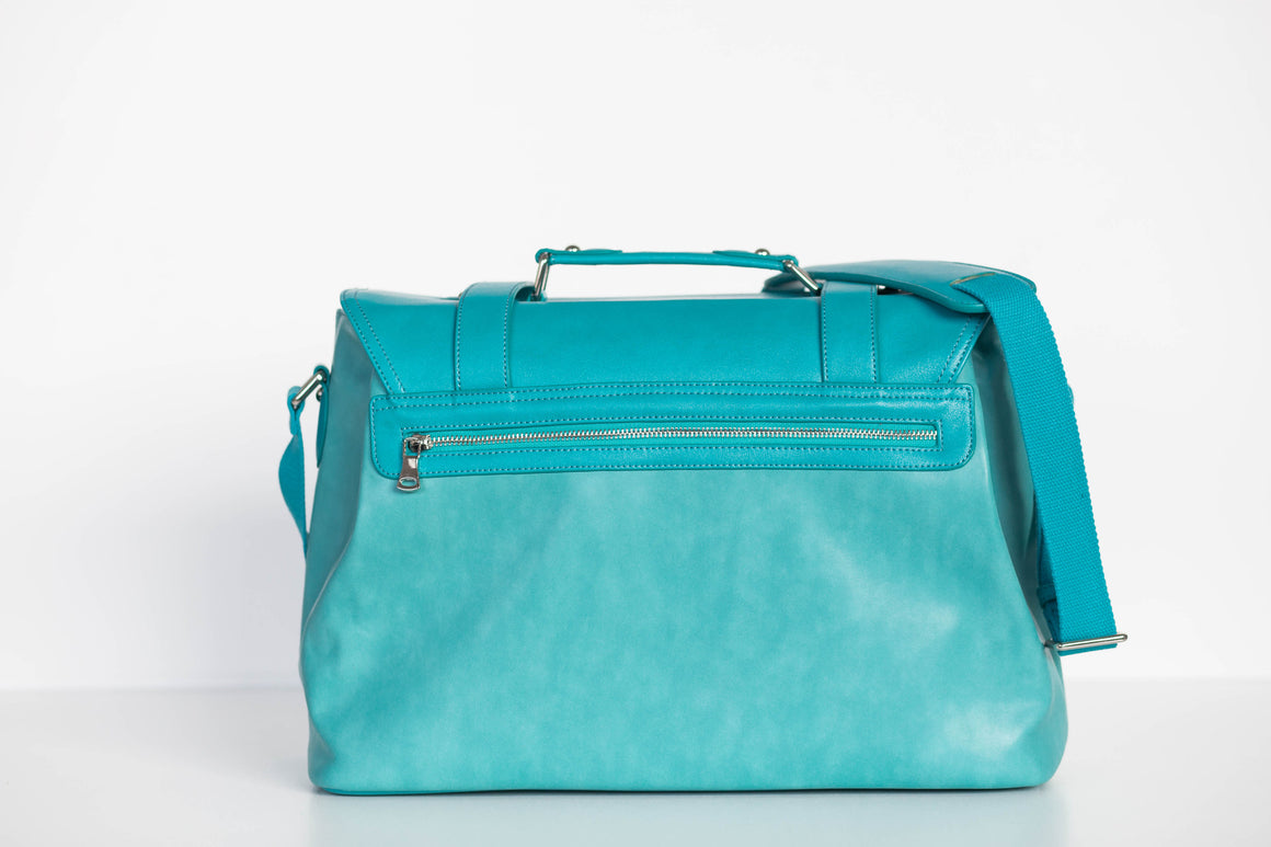 CLEARANCE- Siren Satchel- Tiffany of the Sea Blue