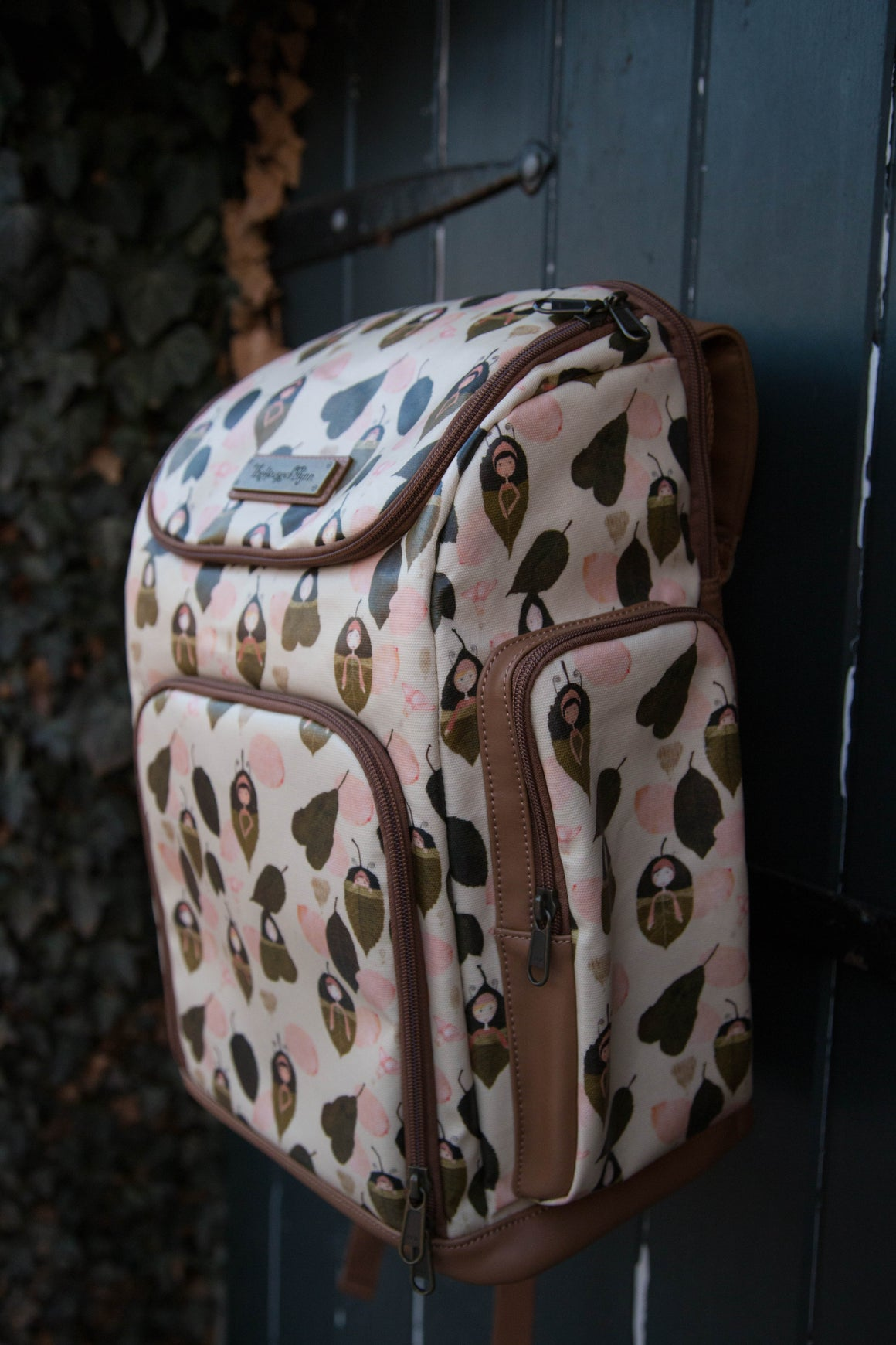 NEW! Leaf Sleepers Diaper Bag - Backpack