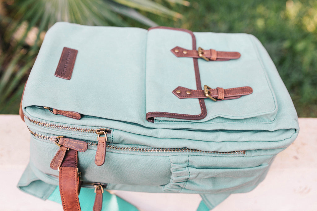 Seafoam- Camera Backpack