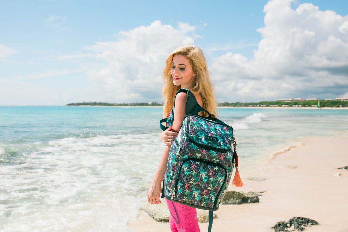 The Backpack- Bimini Black