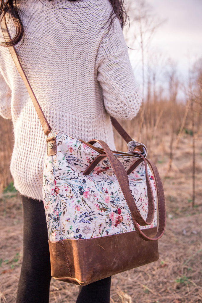 NEW- Everyday Bag- Blush Fable Canvas