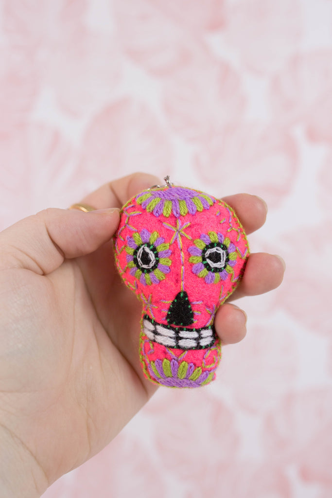 Embroidered Sugar Skull M7