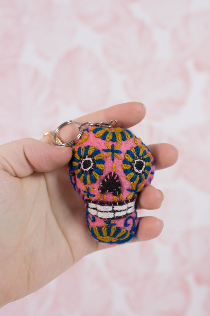 Embroidered Sugar Skull M9