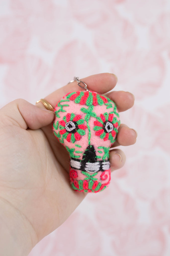 Embroidered Sugar Skull M10