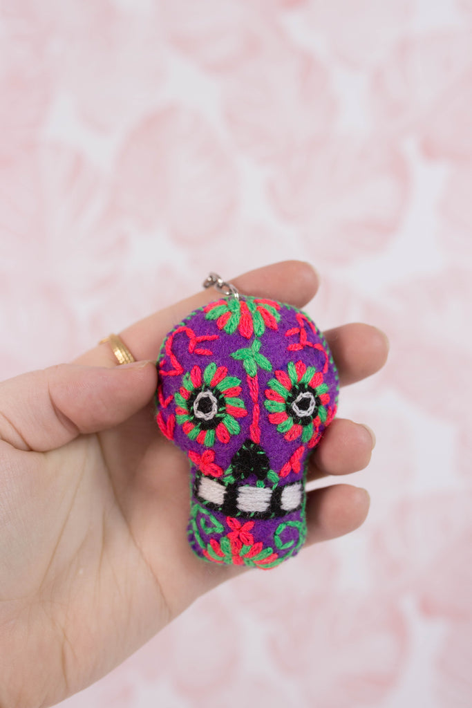 Embroidered Sugar Skull M12