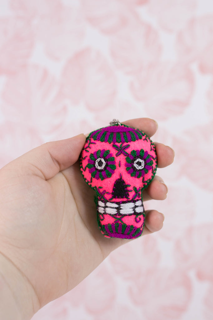 Embroidered Sugar Skull M13