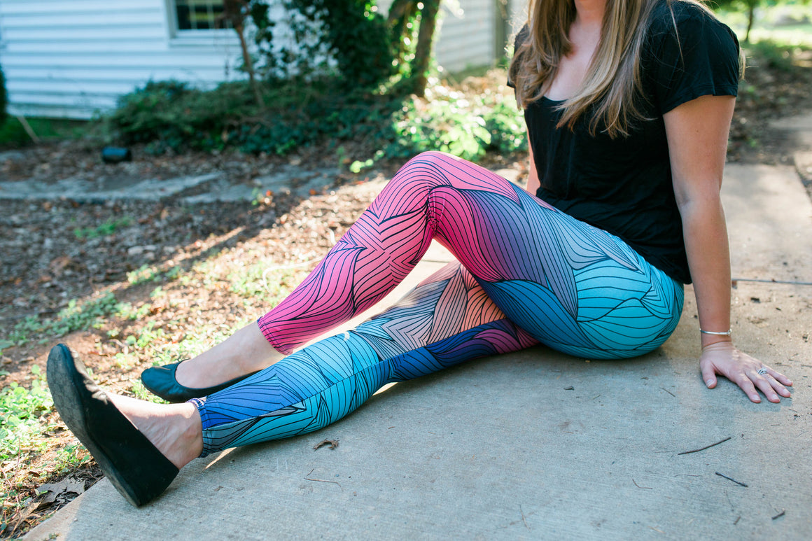 Women's Leggings- Phoenix Flux