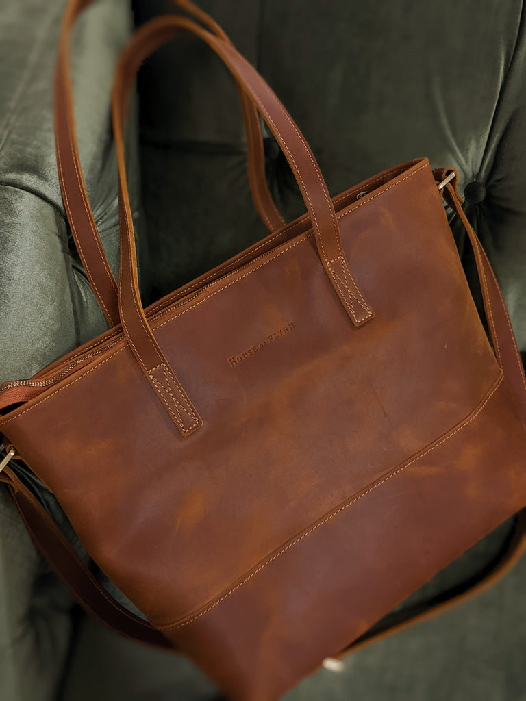 Mini Everyday Bag- Vintage Brown