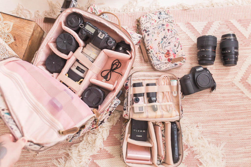 Presale-Blush Fable- Camera Backpack