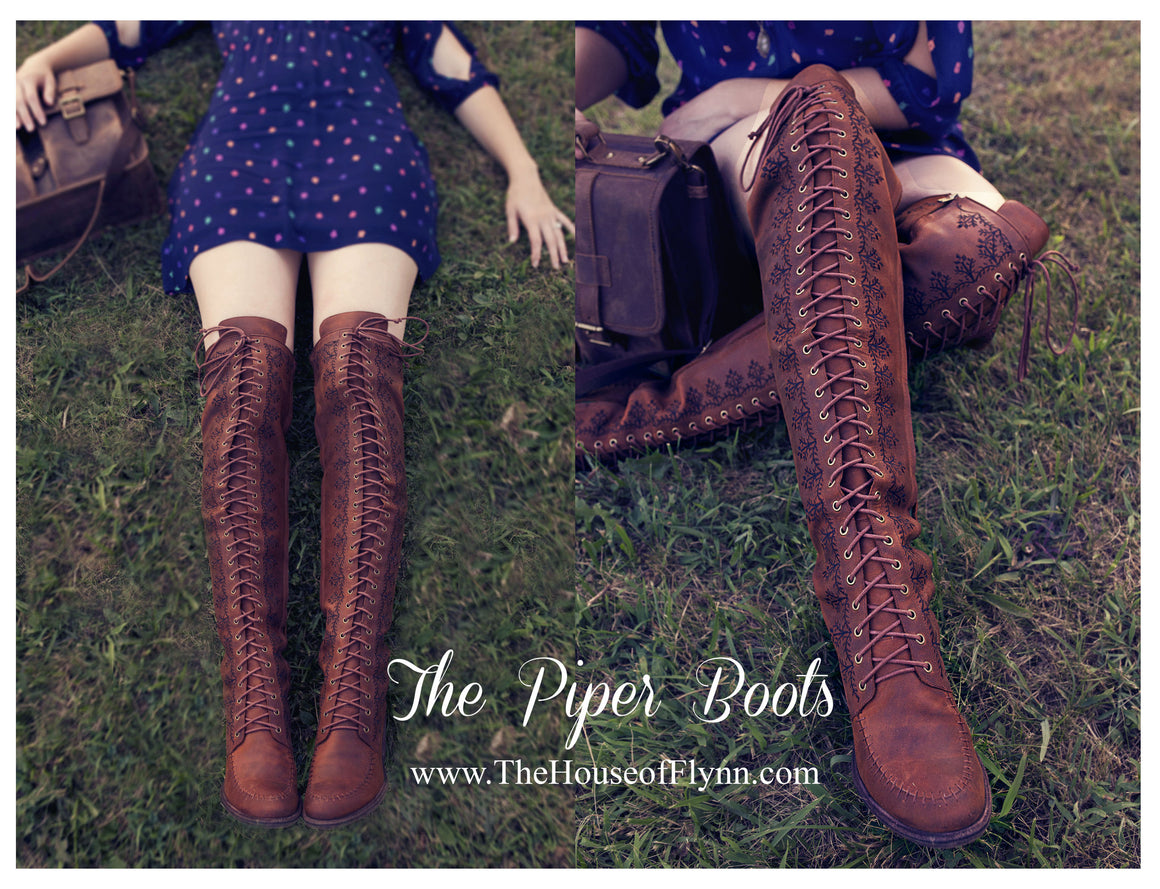 The Piper Tall Boot-Plus Size