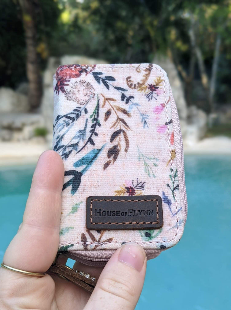 SD Card Holder- Blush Fable