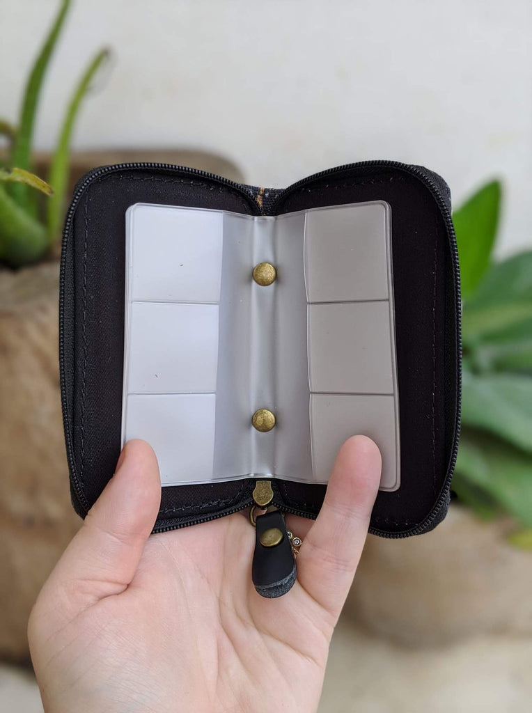 SD Card Holder- Black Fable