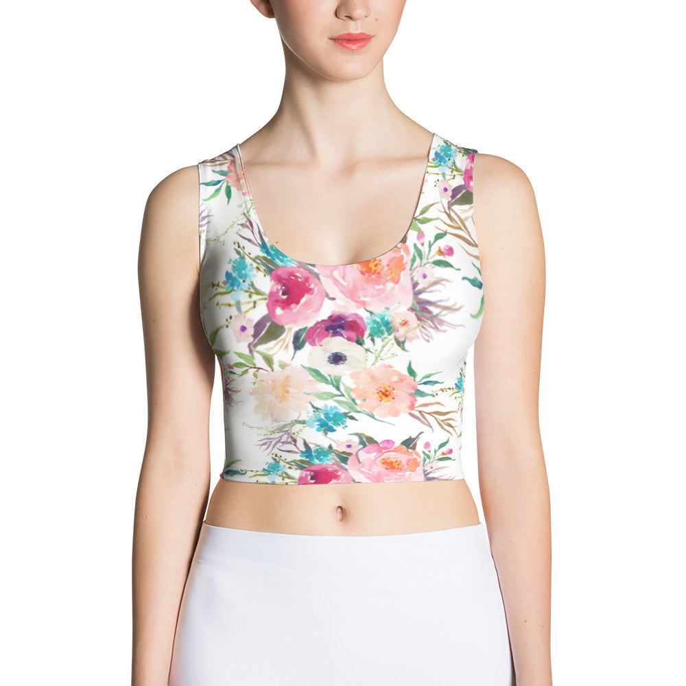 Playa Sports Bra/ Swim Crop Top