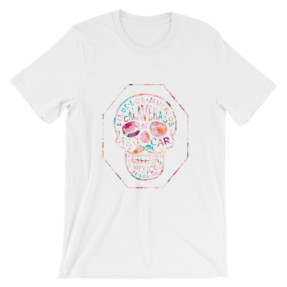Playa Mexico Calavera T Shirt