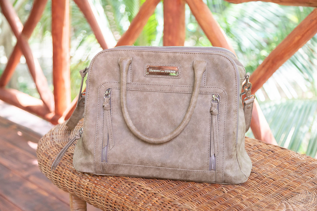 NEW! Luna Bag-Truffle