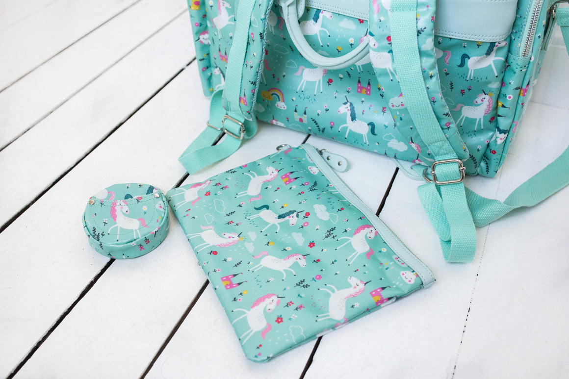 Unicorns Diaper Bag - Evermore