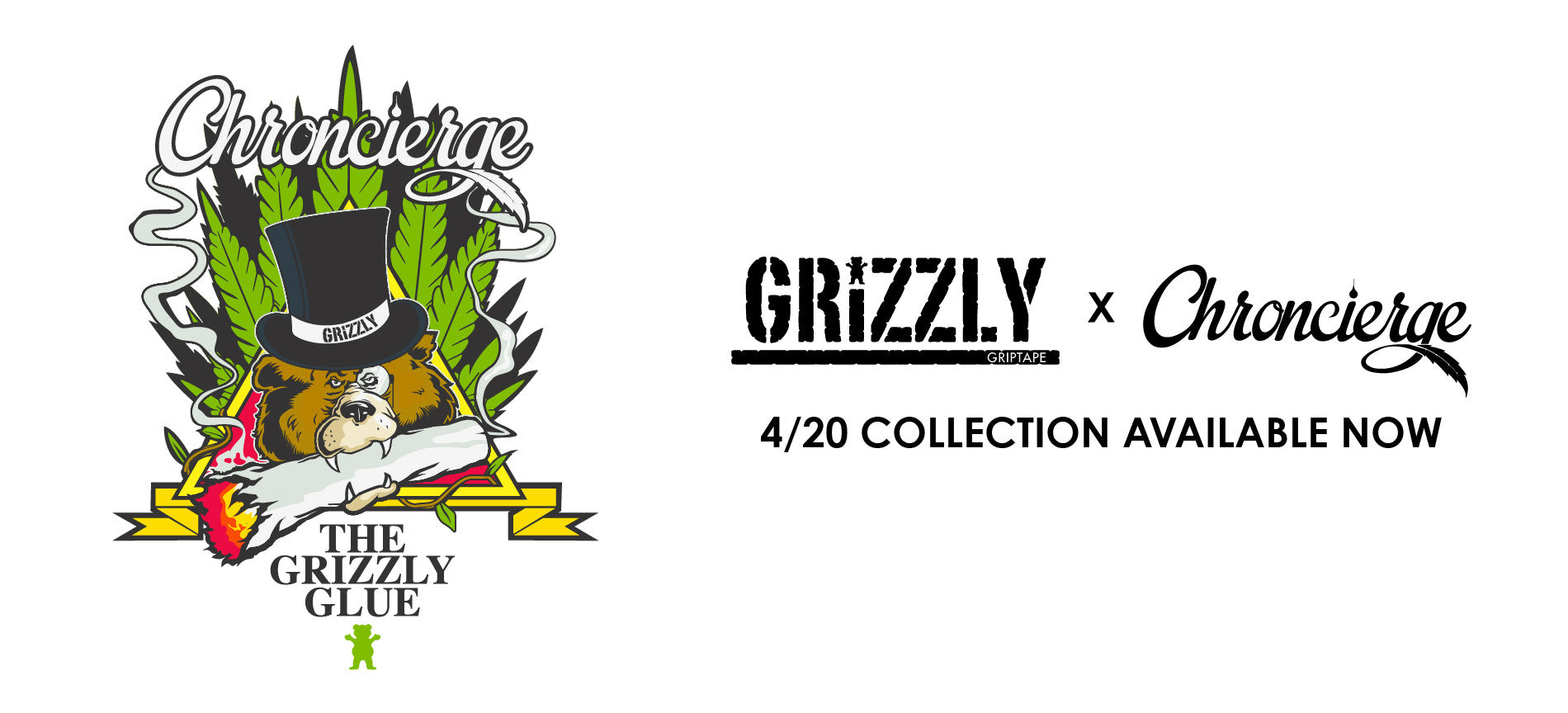 Grizzly Griptape x Chroncierge Presents The Grizzly Gule Marijuana