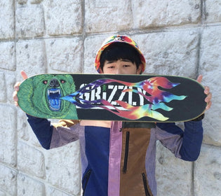 Custom Grizzly Griptape Contest