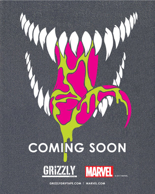 Coming Soon. Grizzly x Marvel Venom Bear