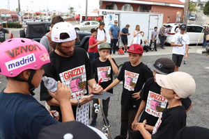 Grizzly x Andale Bearings Cookout at ET Surf