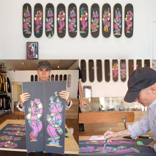 UPDATED DATE - Live Painting & Raffle with Lucas Beaufort Will Be Held Monday July 3rd At Grizzly Flagship Store!