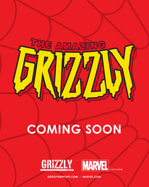 Grizzly x Marvel Coming Soon 🕸