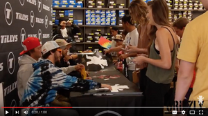 Grizzly Team Signing At Tillys Recap Video