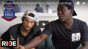 Torey Pudwill, Zion Wright & More - Red Bull Curb Kings 2016