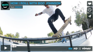 How I Roll With Grizzly Pro Boo Johnson