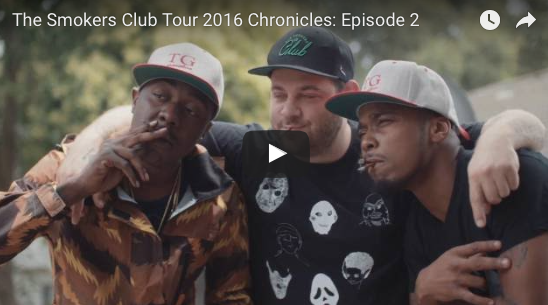 The Smokers Club Tour 2016 Chronicles: Episode 2
