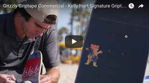 Kelly Hart Signature Griptape Commercial