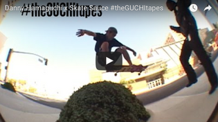Grizzly Team Rider Danny Hamaguchi x Skate Sauce VX Footy