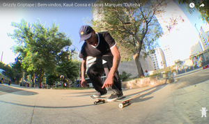 Grizzly Griptape Brazil Welcomes Kaue Cossa & Lucas Marques.