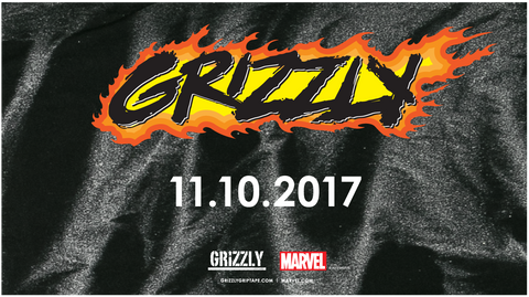 COMING SOON - GRIZZLY x GHOST RIDER Grizzly x @Marvel GrizzlyGriptape.com | Marvel.com #GhostBear