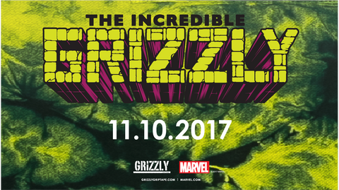 COMING SOON - GRIZZLY x THE INCREDIBLE HULK Grizzly x @Marvel GrizzlyGriptape.com | Marvel.com #TheIncredibleGrizzlyI57