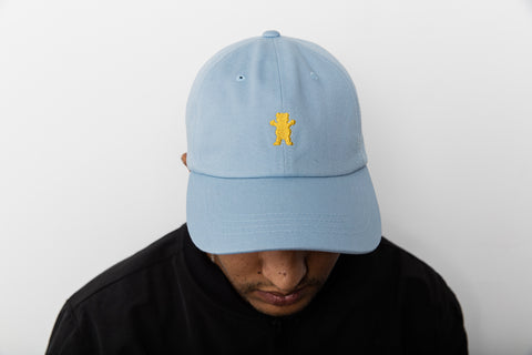 OG Bear Dad Hat in Light Blue