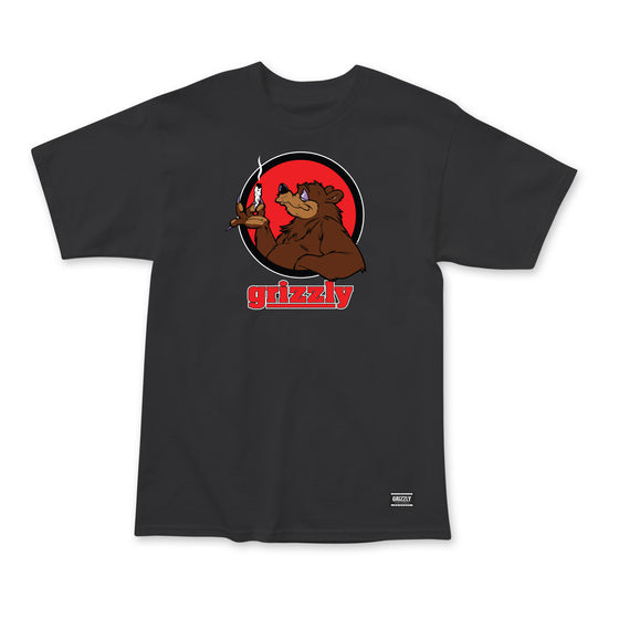 Bear Blunt T-Shirt Black