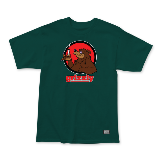 Bear Blunt T-Shirt Forest