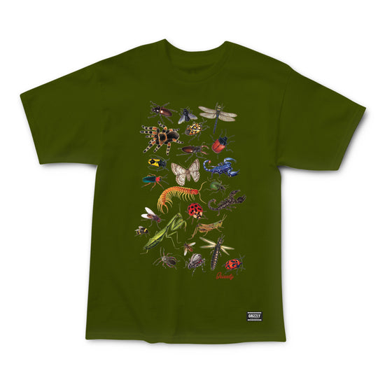 Boo Bugs T-Shirt Olive