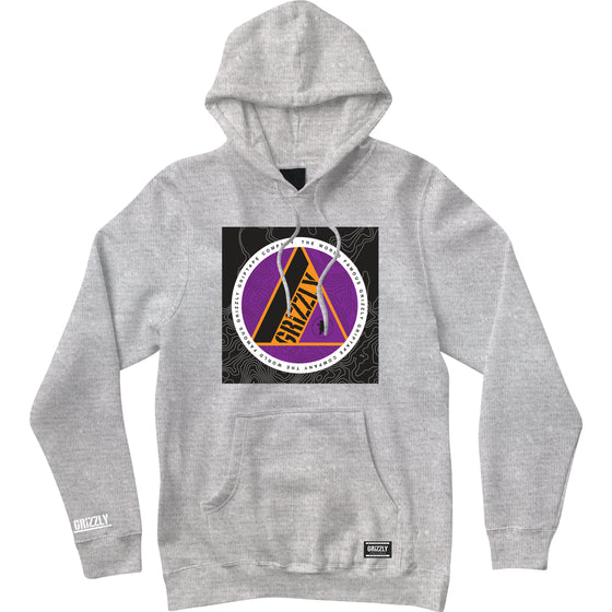 World Famous Hoodie Heather Grey