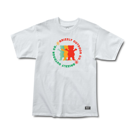 Faceoff Tee White