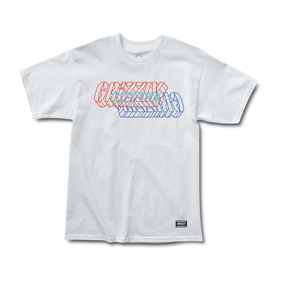 Opposite Dimensions Tee White