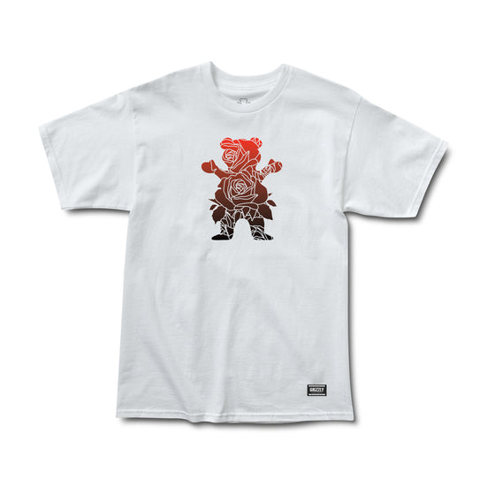 Rose Bear Tee White