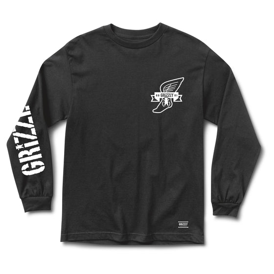 Swift Longsleeve Tee Black