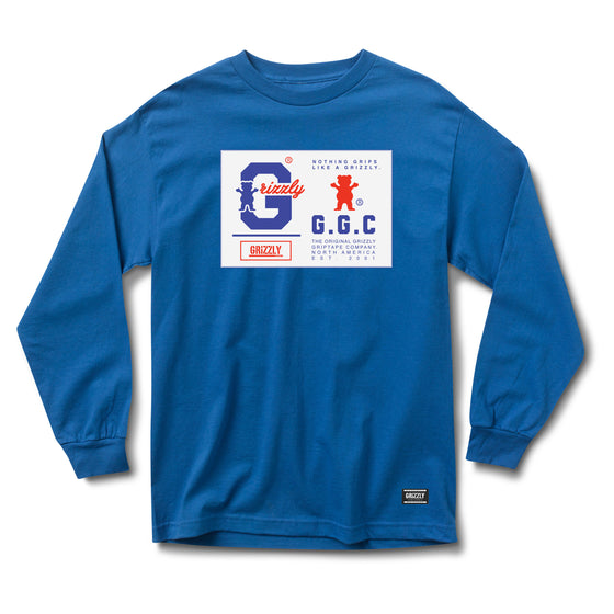 Nothing Grips Better Longsleeve Royal
