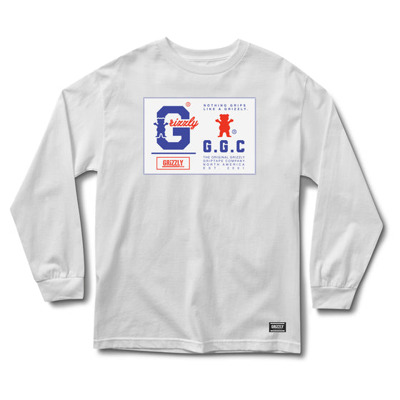 Nothing Grips Better Longsleeve White
