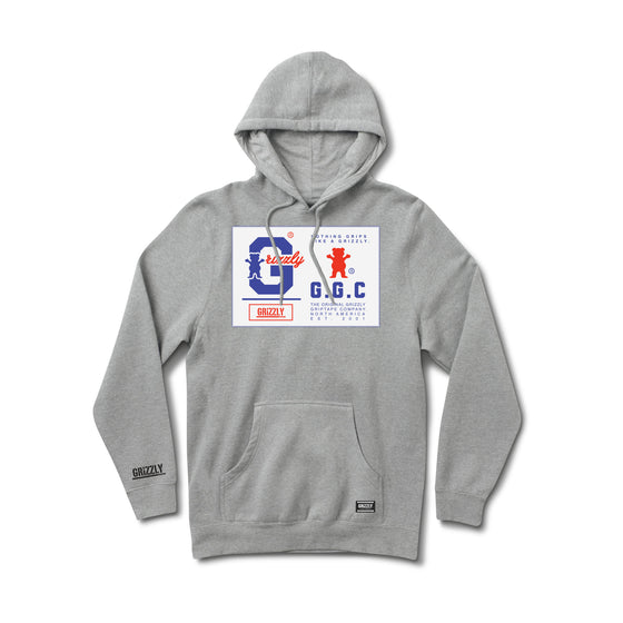 Nothing Grips Better Hoodie Heather Grey