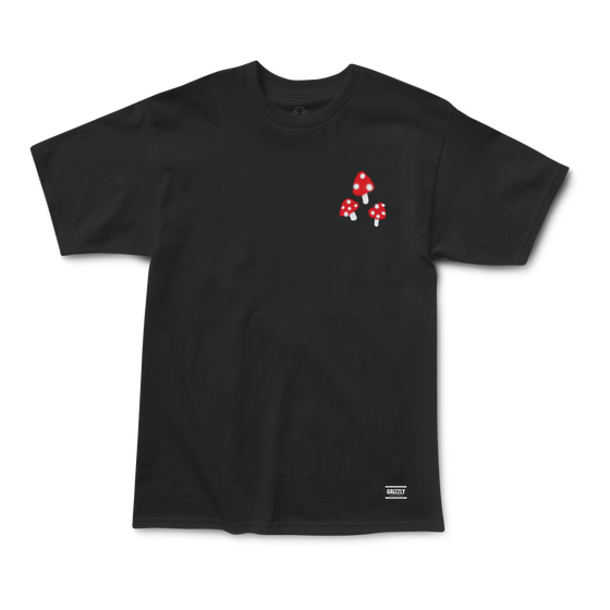 Toadstool T-Shirt Black