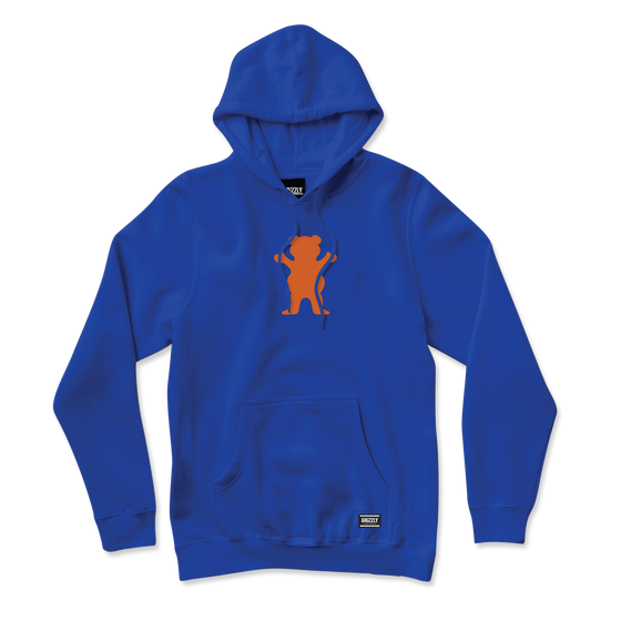 OG Bear Hoodie Royal/Orange