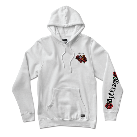 Flash Art Hoodie White